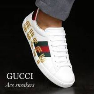 Gucci White Mens Sneakers Size 10